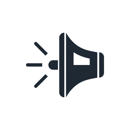 Speaker volume sign icon