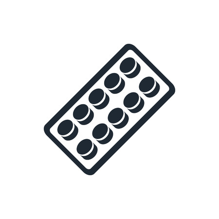 side effect: pills blister pack icon
