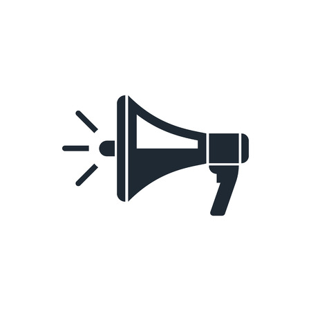 megaphone icon Stock Vector - 39573537