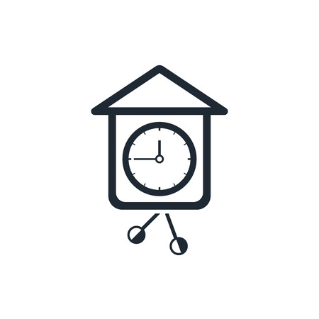 wall clock icon Vector