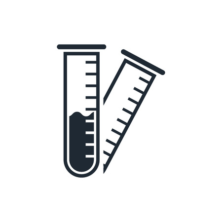 testtube: test-tube icon Illustration