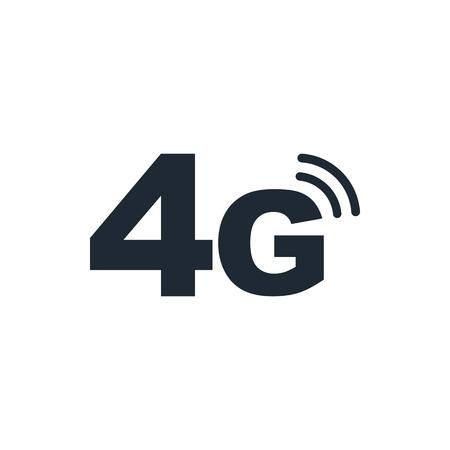 4g mode technology icon