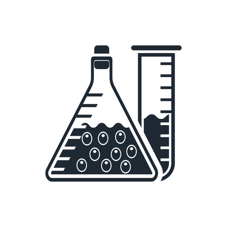 laboratory glass: laboratory icon