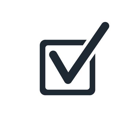 controllare l'icona marchio Vettoriali