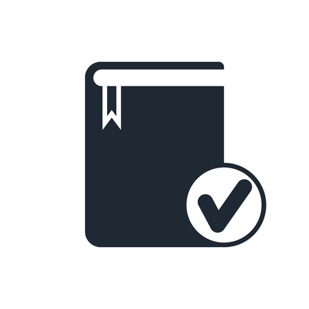 electronic publishing: selected book icon Illustration