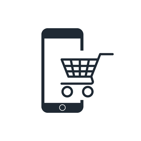 package printing: e-commerce icon Illustration