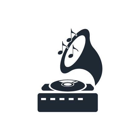 gramophone: gramophone icon