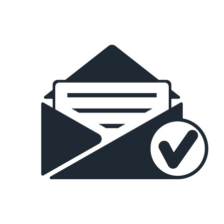 selected: selected mail icon