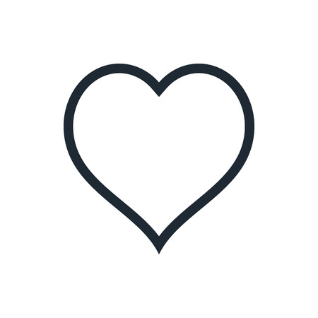 outline heart icon