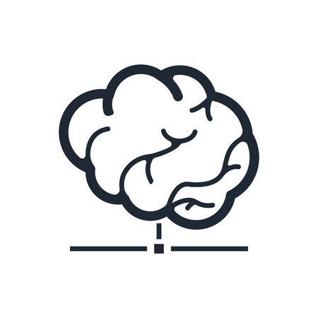 smart database icon Stock Illustratie