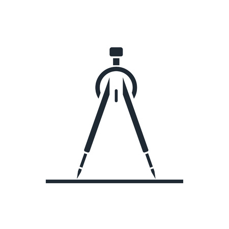 compasses icon Stock Illustratie