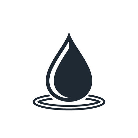 water droplets: water drop icon