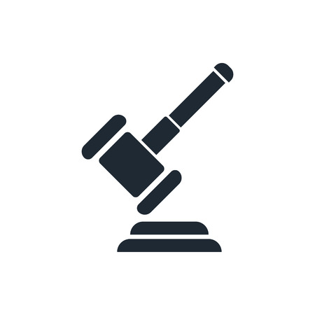 criminal case: Hammer judge icon