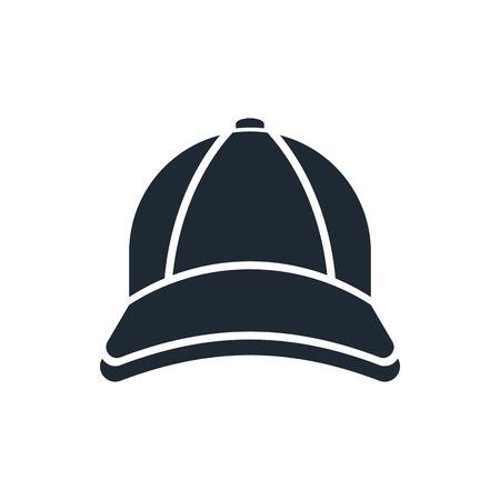 野球キャップのアイコン  イラスト・ベクター素材