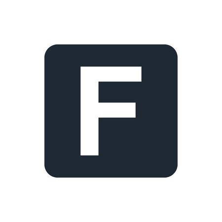 followers: icona lettera F