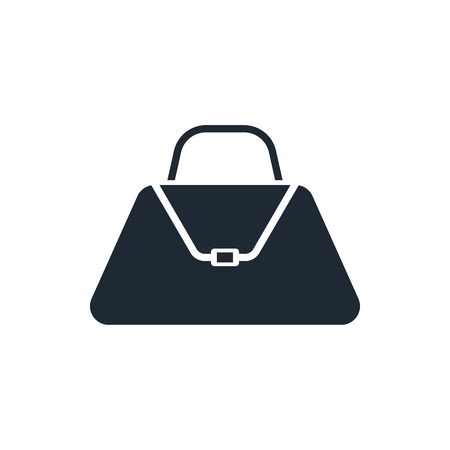 e new: hand bag icon Illustration