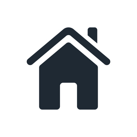 home button: home icon Illustration