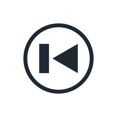 rewind: rewind back Media Player Icon