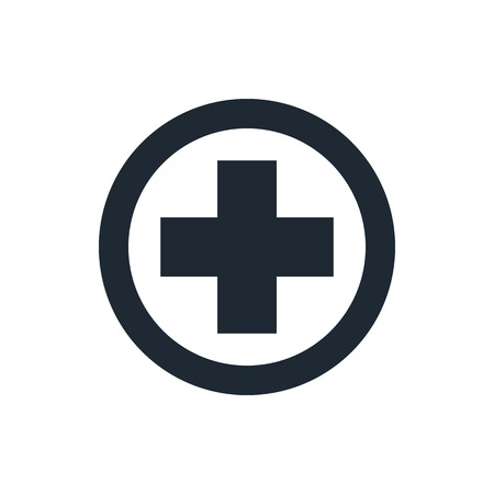 1st: Medical cross icon
