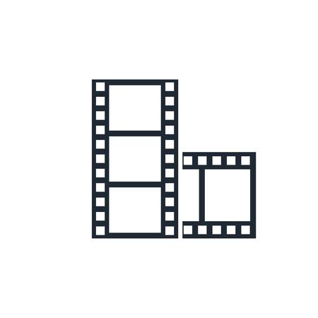 strip show: movie icon