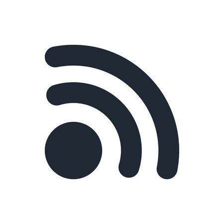internet radio: rss icon