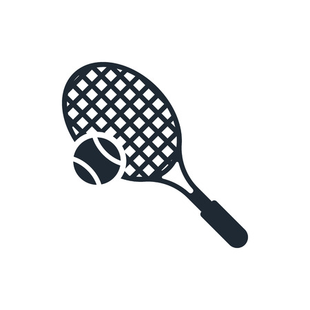 tenis: tenis game icon Illustration