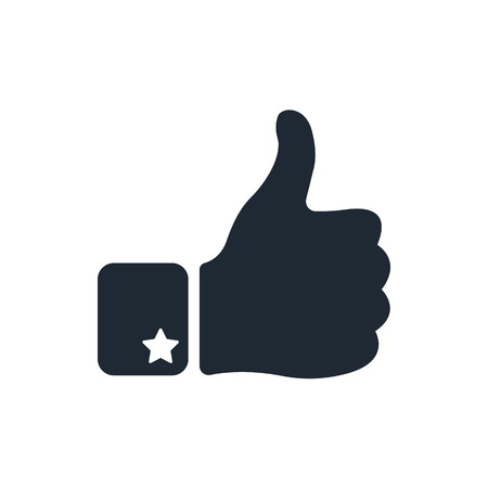 Thumb Up Icon 向量圖像