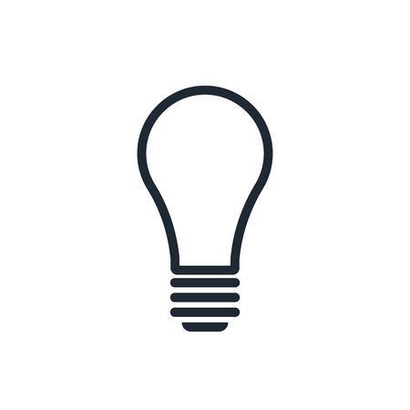 outline light bulb icon