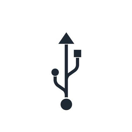 usb icon Illustration