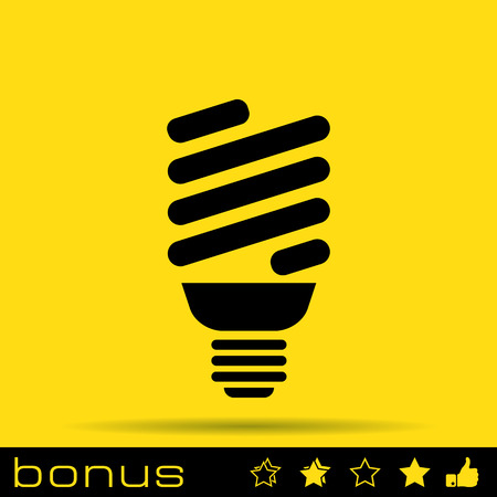 bulb icon: light bulb icon