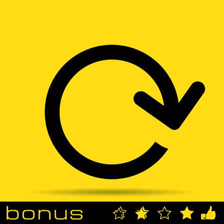 pętla: arrow loop icon