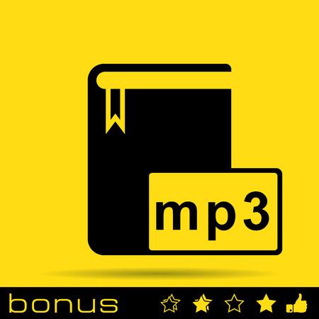 elettronic: audio book icon