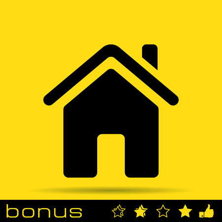 home loans: home icon Illustration