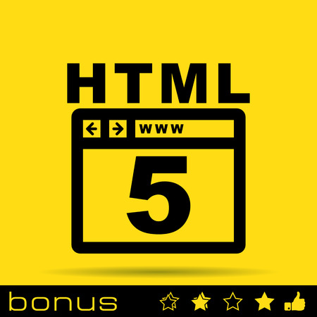 html 5: HTML 5 icon