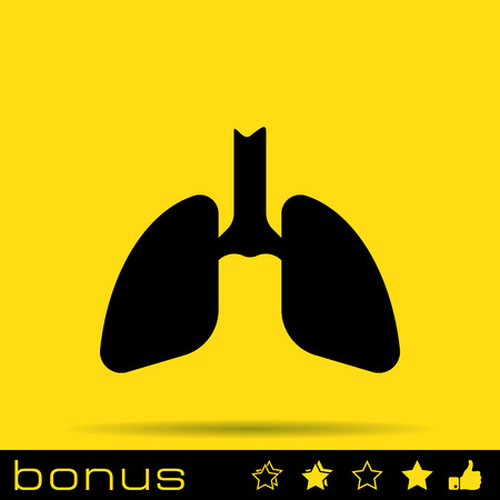respire: lungs icon
