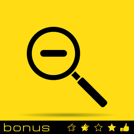 magnifying glass icon: magnifying glass zoom icon