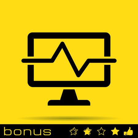 diagnostics: computer diagnostics icon