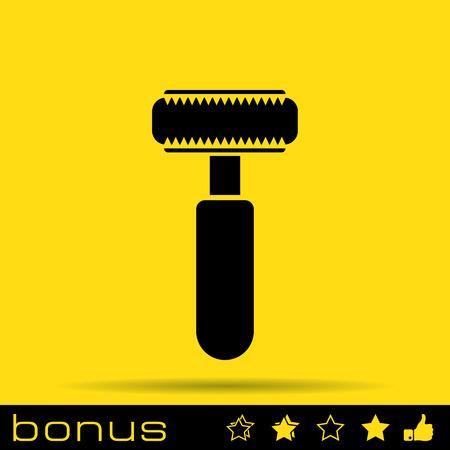 toiletries: Shaving razor icon