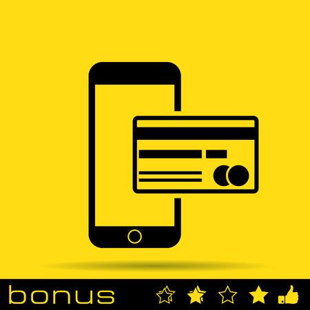mobile banking: Mobile banking icon