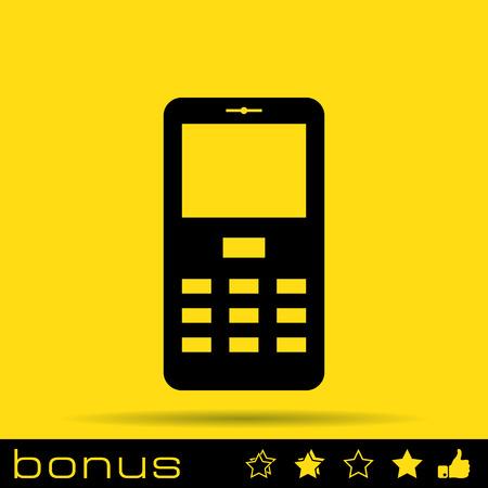 phone call: mobile phone icon