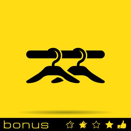 hangers icon Vector