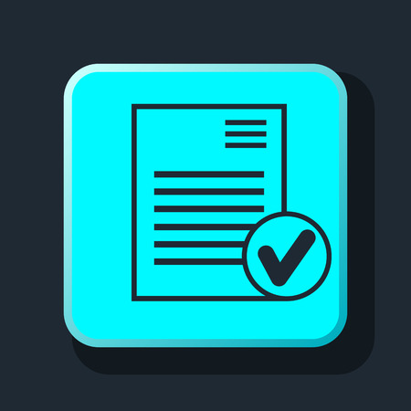 select document icoon