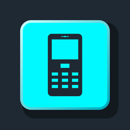 mobile phone icon: mobile phone icon
