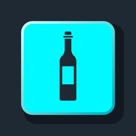 vino: vine bottle icon