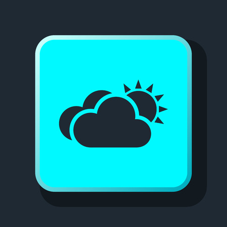 meteo: cloud meteo icon