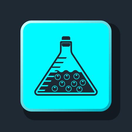 forensics: test tube icon