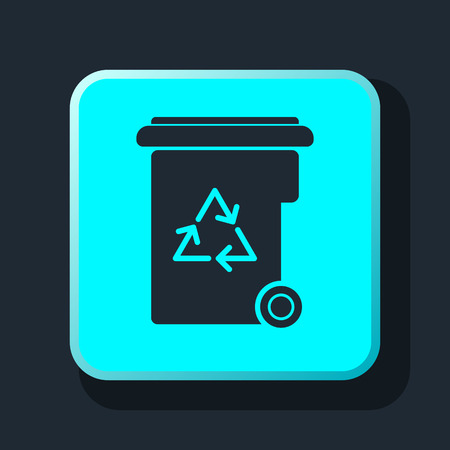 garbage container: garbage icon