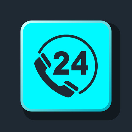 telephone icon: telephone support icon