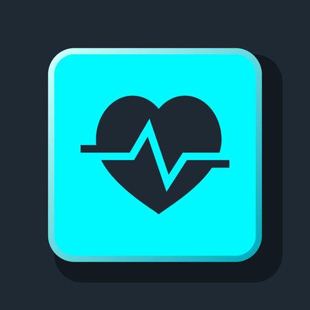 cardioid: icono de la cardiología corazón