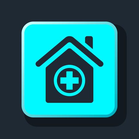 icon hospital: hospital icon